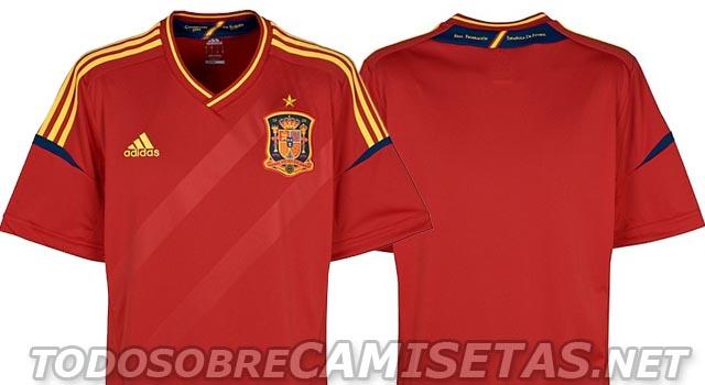 b24f49f488 Saíram as fotos do novo uniforme home da seleção espanhola