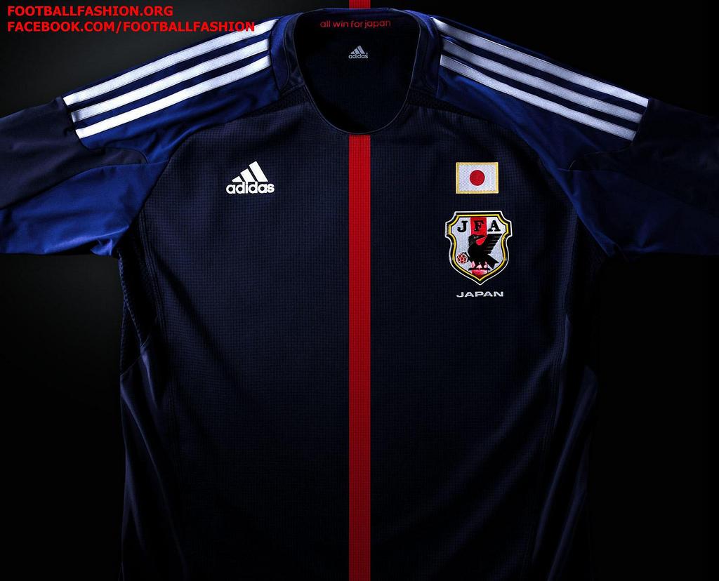 f371fde0e5afd Japão - Adidas Home 2012 2014 - Camisas e Chuteiras
