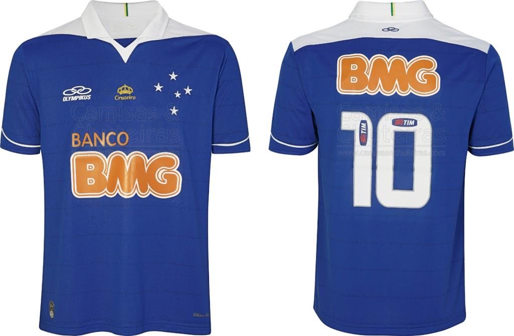 Cruzeiro - Olympikus 2013 - Camisas e Chuteiras 65253a51c9b1f