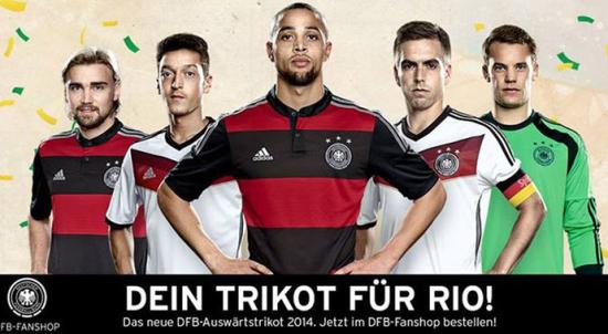 Não tenho a menor dúvida de que uma torcida aqui no Brasil aprovou e  comprará o novo manto da seleção alemã. Segundo a Adidas 2b769290ecaaf