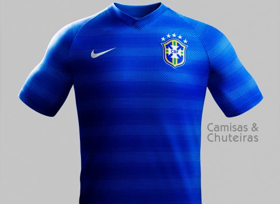 0de3d06a25e31 Brasil - Nike away 2014 2015 - Camisas e Chuteiras