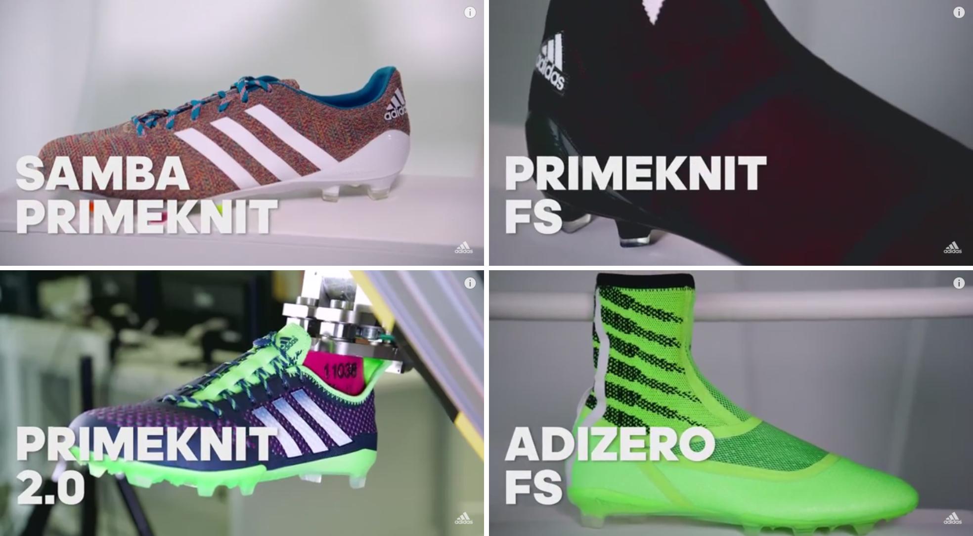 a68c4f2c057 Adidas PrimeKnit - adiZero FS e FF Boost - Camisas e Chuteiras