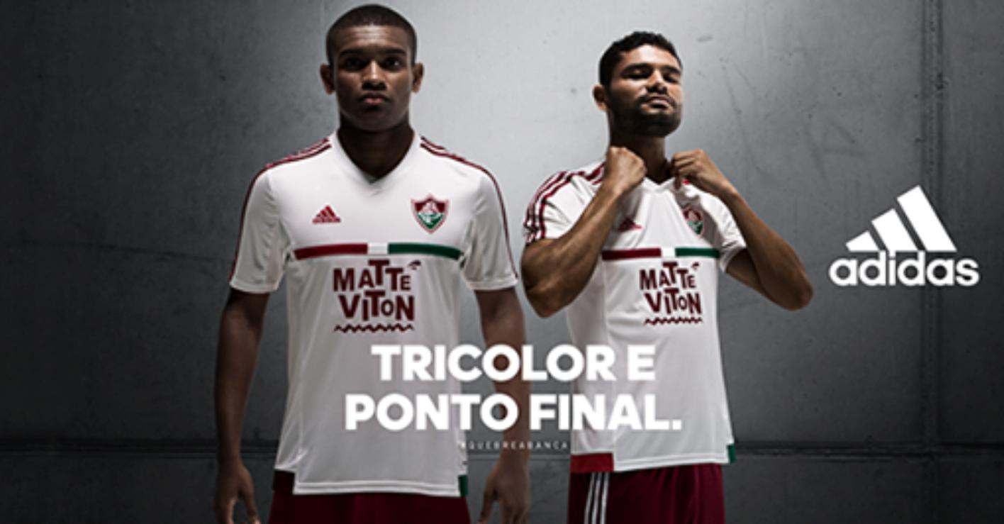 07a8956043 Fluminense - Adidas Away 2015 - Camisas e Chuteiras