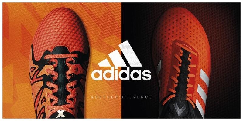 b61dac59b7ef3 Em 2015 a Adidas anunciou uma revolução no futebol. Os antigos modelos  foram substituídos por duas novas chuteiras para o jogador de futebol  moderno – Ace ...