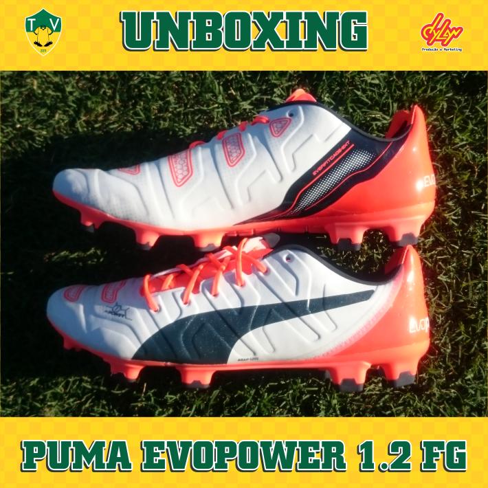 41e1bca0a6bb Unboxing - Puma evoPOWER 1.2 FG - Camisas e Chuteiras