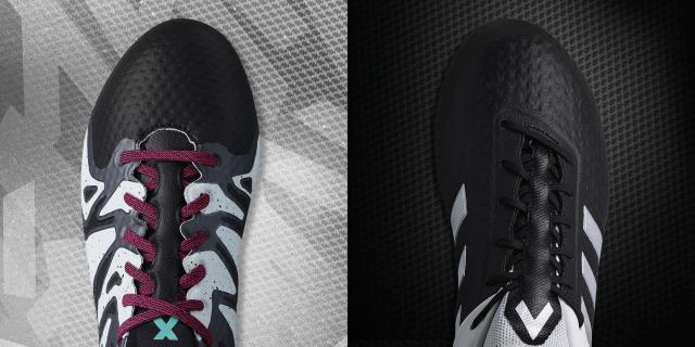 95ec29112f6c1 Confiram todos os detalhes dos novos esquemas de cores das Adidas Ace 15+ e X  15+ PrimeKnit do Black And White Pack!