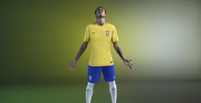 Brasil - Nike Home e Away 2016 - Camisas e Chuteiras 7ad24a480d477