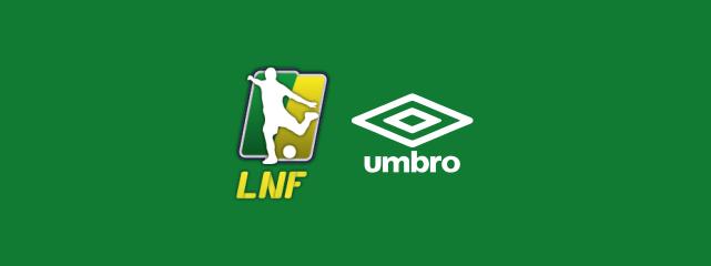 2926f44e4d34d ... a inglesa Umbro fechou parceria com a Liga Nacional de Futsal (LNF) e  será a fornecedora oficial das bolas das competições de 2016 e 2017.
