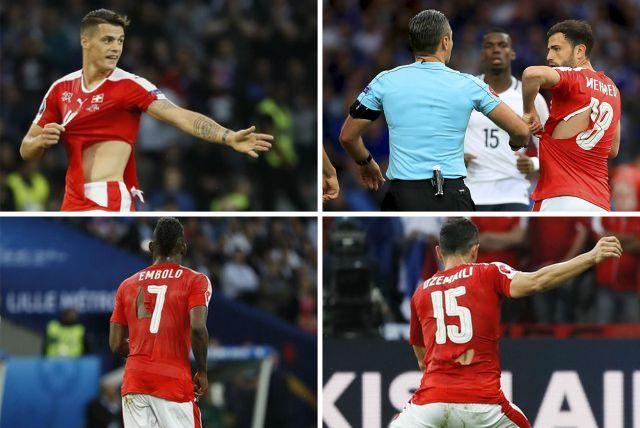 Suíça x França - Camisas rasgadas b361820d5053e