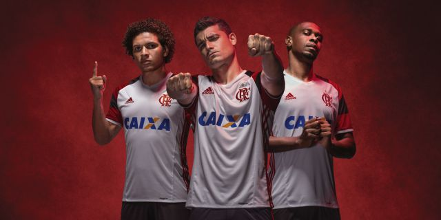 e5dc5e6a56 Flamengo - Adidas Away 16/17 - Camisas e Chuteiras