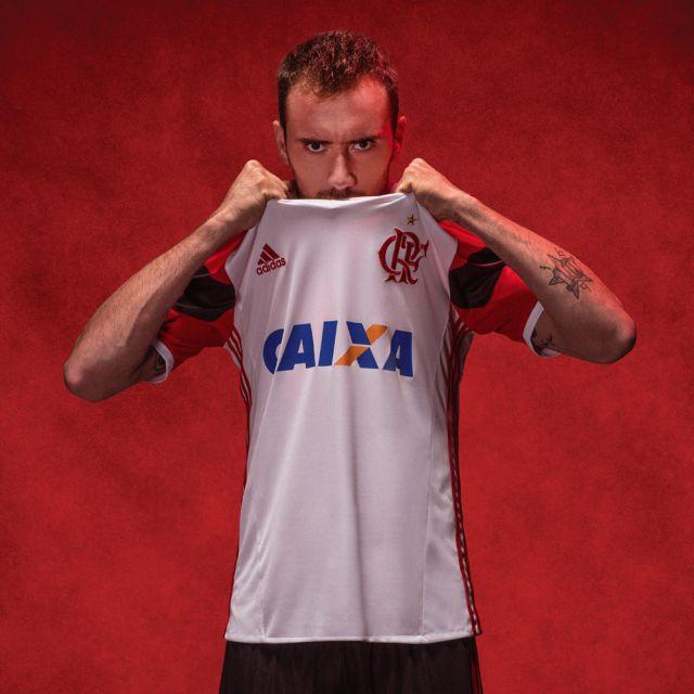 Flamengo - Adidas Away 16 17 - Camisas e Chuteiras 6475e399e09c1