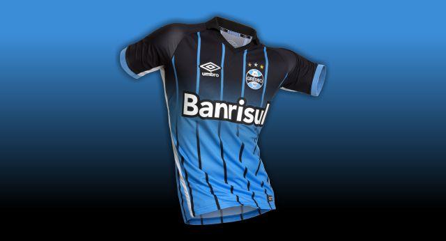 Grêmio e Umbro apresentam nova camisa OF3 - Camisas e Chuteiras 0d1c3b31f9f1a