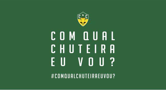 #ComQualChuteiraEuVou?