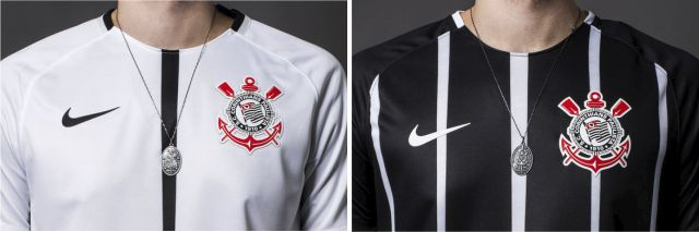 1d239394ecb8e Corinthians - Nike Home e Away 2017 - Camisas e Chuteiras