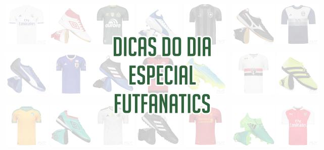 febe92c11 A FutFanatics nos enviou um cupom de desconto especial para vocês  utilizarem nas compras no site. Para ajudá-los