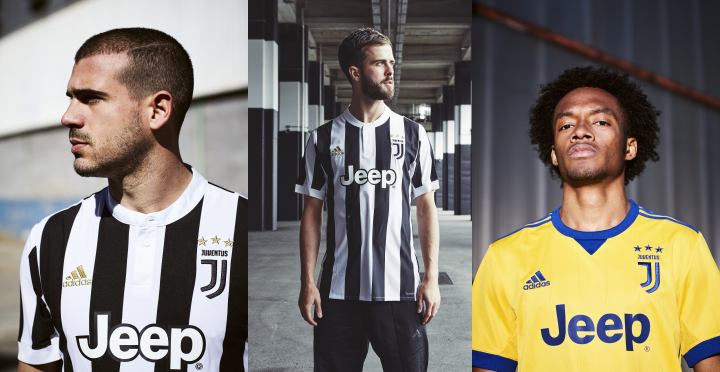 01d79862e7 Juventus - Adidas Home e Away 17 18 - Camisas e Chuteiras