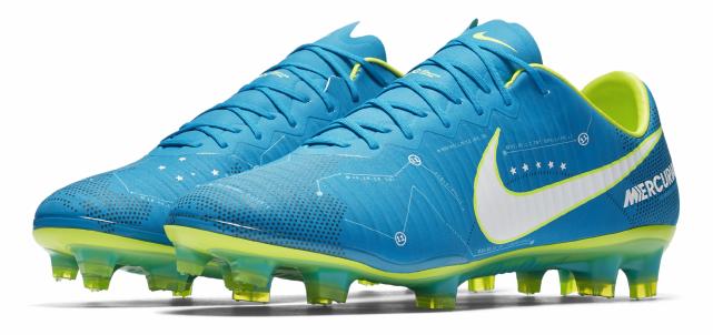 f624c507715 O design do calçado homenageia ainda dois grandes momentos de Neymar na  Seleção Brasileira. O primeiro