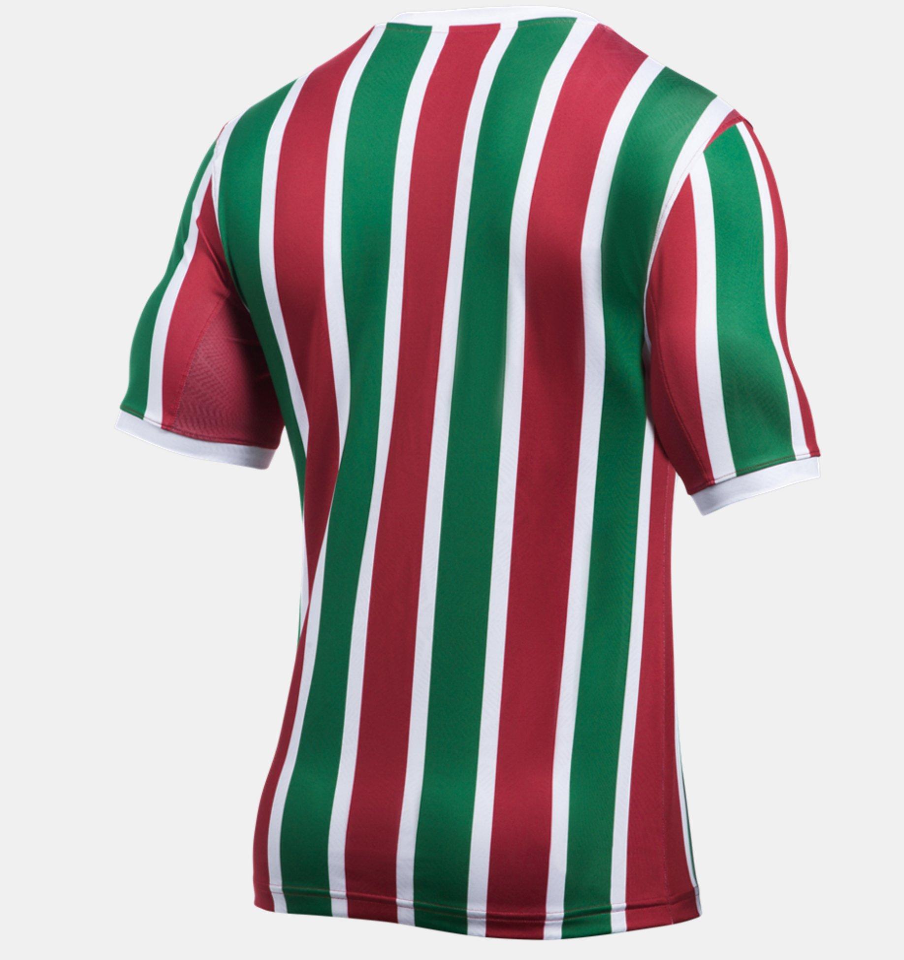 Fluminense - Under Armour Home e Away 17 18 - Camisas e Chuteiras fc67fc29a4d1c