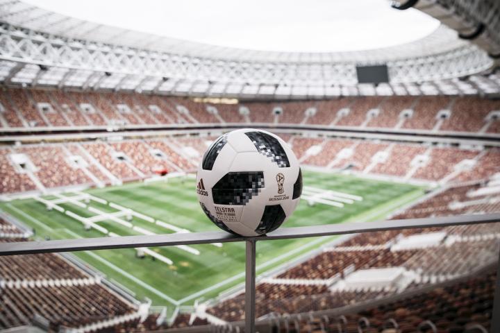 27c4d6485 A adidas Futebol revelou hoje a Bola Oficial para a Copa do Mundo da FIFA  Rússia 2018. A Telstar 18 será usada pelos maiores craques do mundo na  busca pelo ...