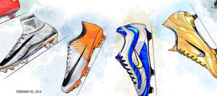 3dfc04f867 A história da Nike Mercurial  A velocidade fica ainda mais rápida! - C C