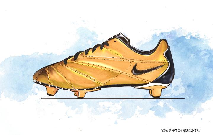 19ae0b2142aec ... o desenvolvimento da chuteira foi incorporado pelo Projeto Alpha da Nike  – que incluía uma série de modelos