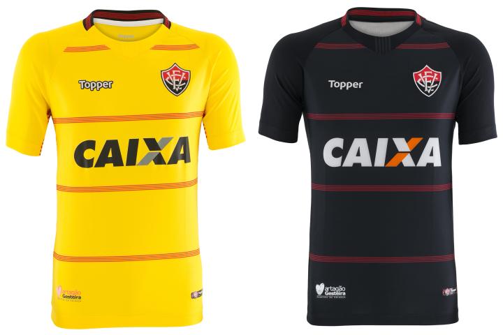 Vitória e Topper apresentam coleção 2018 - Camisas e Chuteiras 1fa04dd72c542