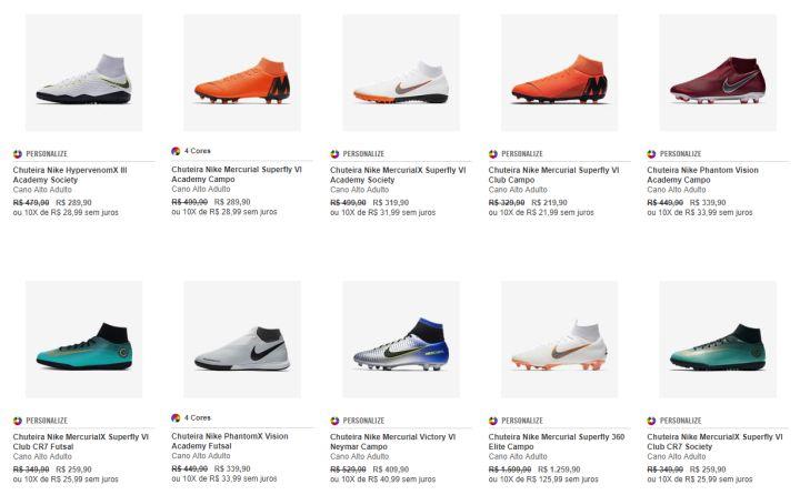 05800ab088357 Black Friday e lançamentos em Nike.com! - Camisas e Chuteiras