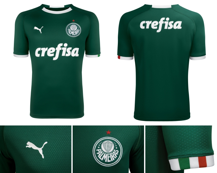 0a870a2bb4 Palmeiras - Puma Home e Away 2019 - Camisas e Chuteiras