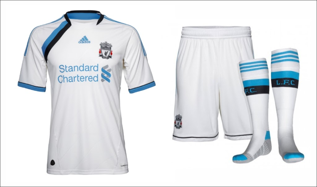 3º Uniforme Liverpool 2011 2012 Camisas E Chuteiras