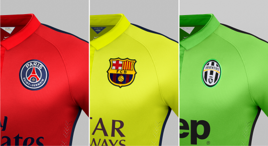 psg barcelona e juventus nike third 14 15 camisas e chuteiras psg barcelona e juventus nike third