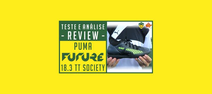 Chuteira Puma Future 18.3 TT society