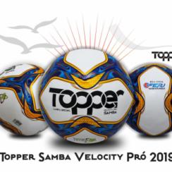 Bola Topper Samba Velocity Pró 2019